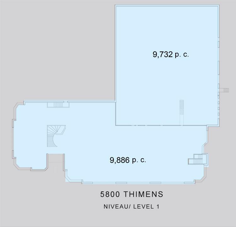 5800 Thimens, St-Laurent
